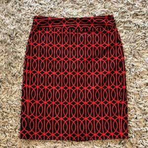 3 for 25$!! BR Red and navy pencil skirt